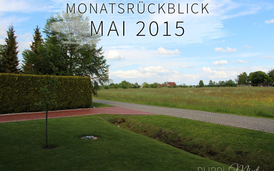 Monatsrückblick: Mai 2015
