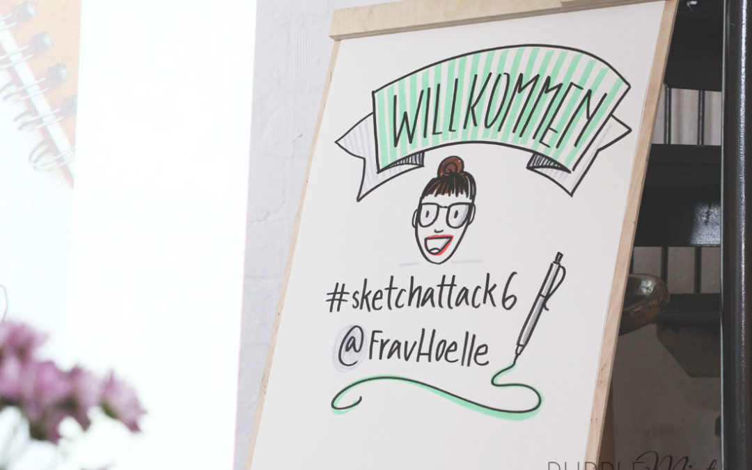 #Sketchattack – der Sketchnote-Workshop