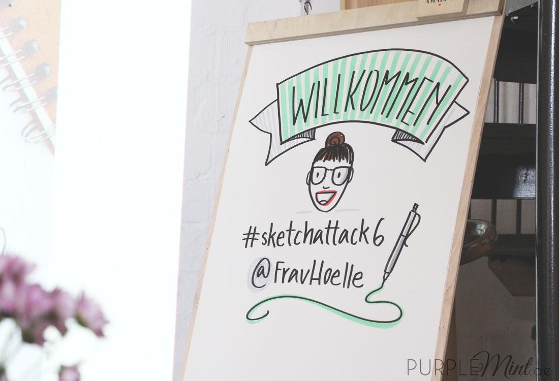 Sketchattack 6 in Bremen mit Frau Hölle