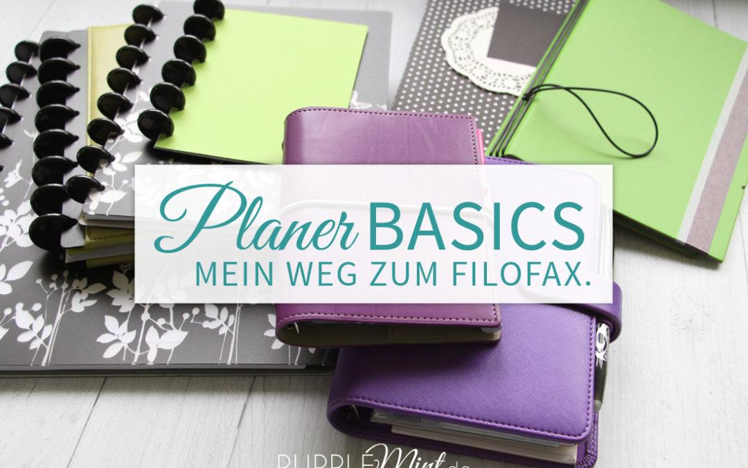 (Planer-Basics) Mein Weg zum Filofax…