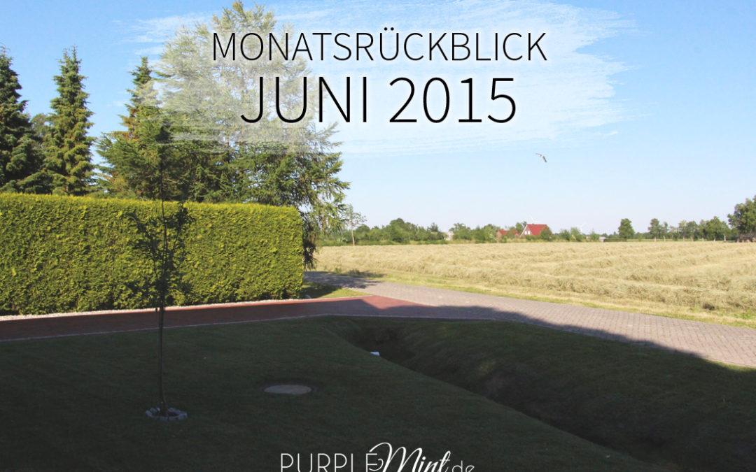 Monatsrückblick: Juni 2015