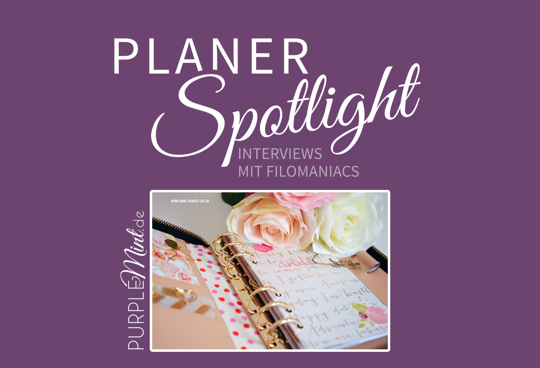 Planer-Spotlight - Filofax - Interview mit Anne