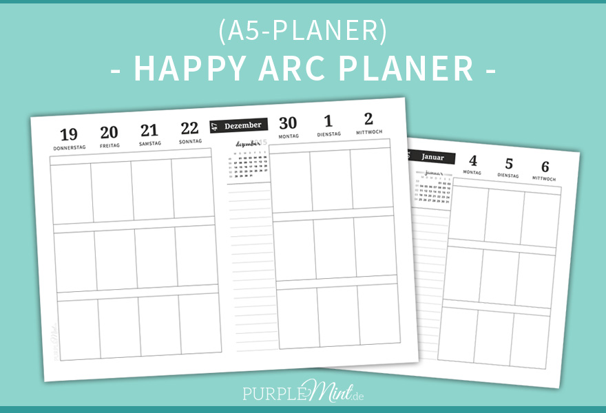 Happy ARC Planer // Wo2p 2015 (Free Printable)