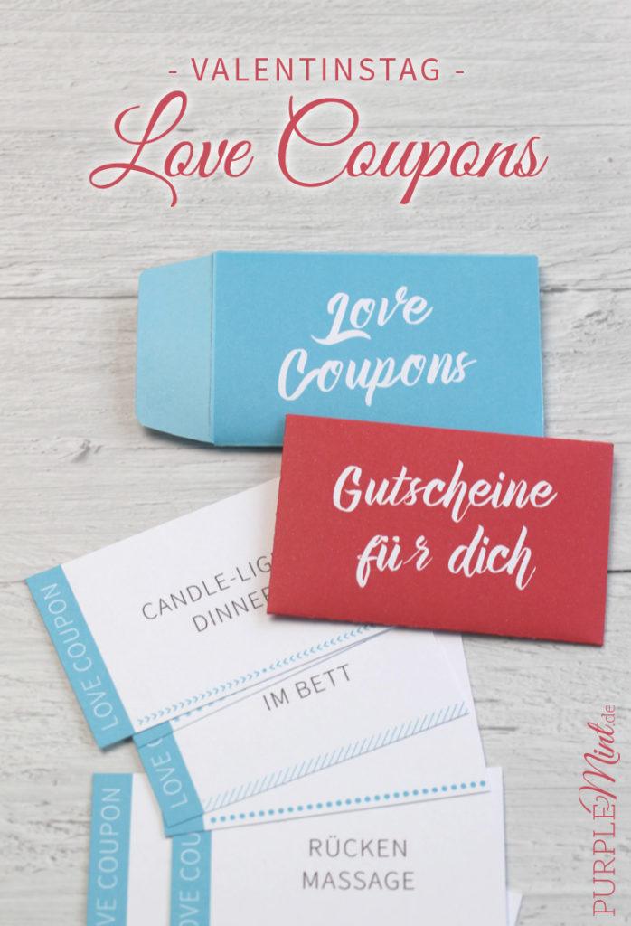 Valentinstag - Last-Minute Geschenkidee - Love Coupons
