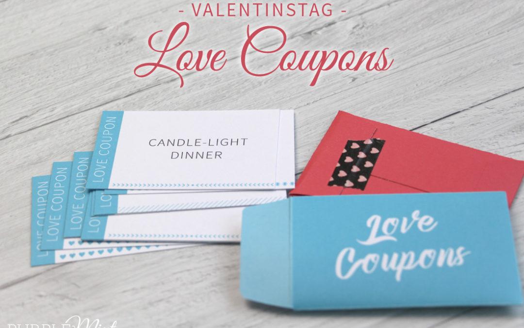 Valentinstag: Last-Minute Geschenkidee – Love Coupons
