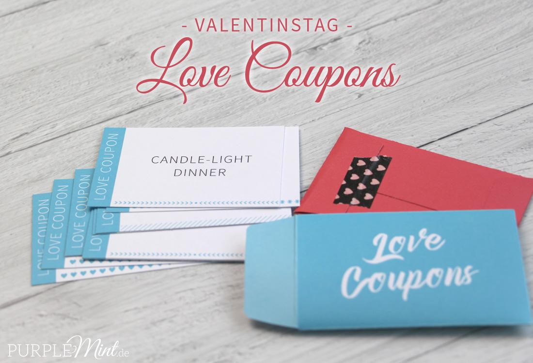 Valentinstag: Last-Minute Geschenkidee - Love Coupons | purplemint