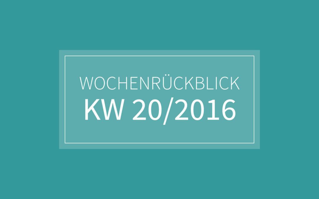 KW 20/2016 – CCT. Nähen. Grillen.