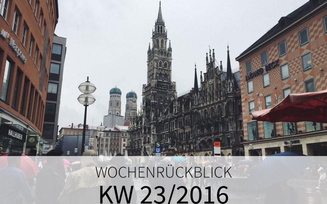 KW 23/2016 – Europa Park. München. Urlaub.