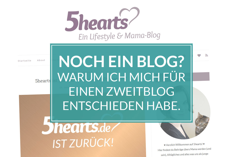 Noch ein Blog? Warum ich mich für einen Zweitblog entschieden habe.