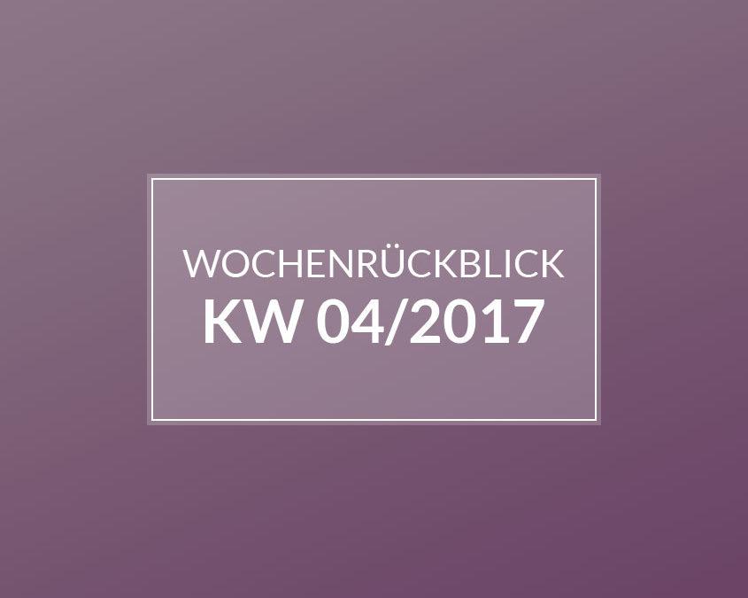 KW 04/2017 – Babyzimmer. Bogen machen. Und jede Menge Produktproben.