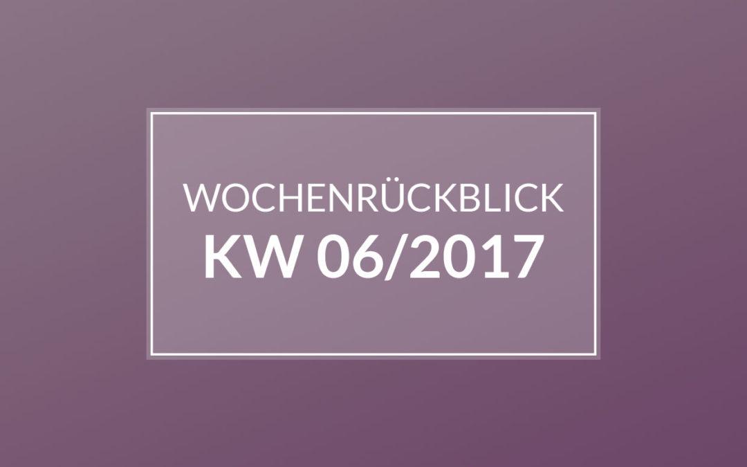 KW 06/2017 – IKEA. Kreissaal-Besichtigung. Und wieder nähen.