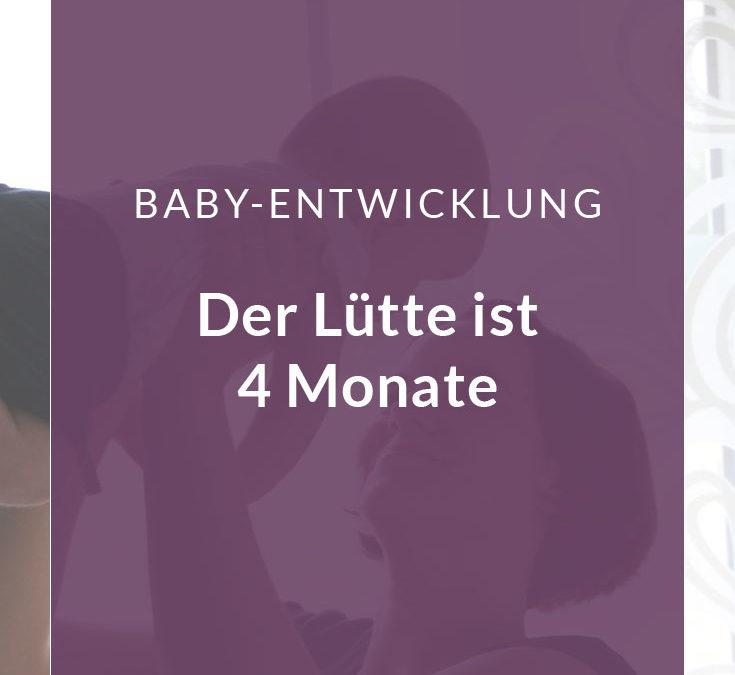 4 Monate Baby – wie unser Sohn sich entwickelt