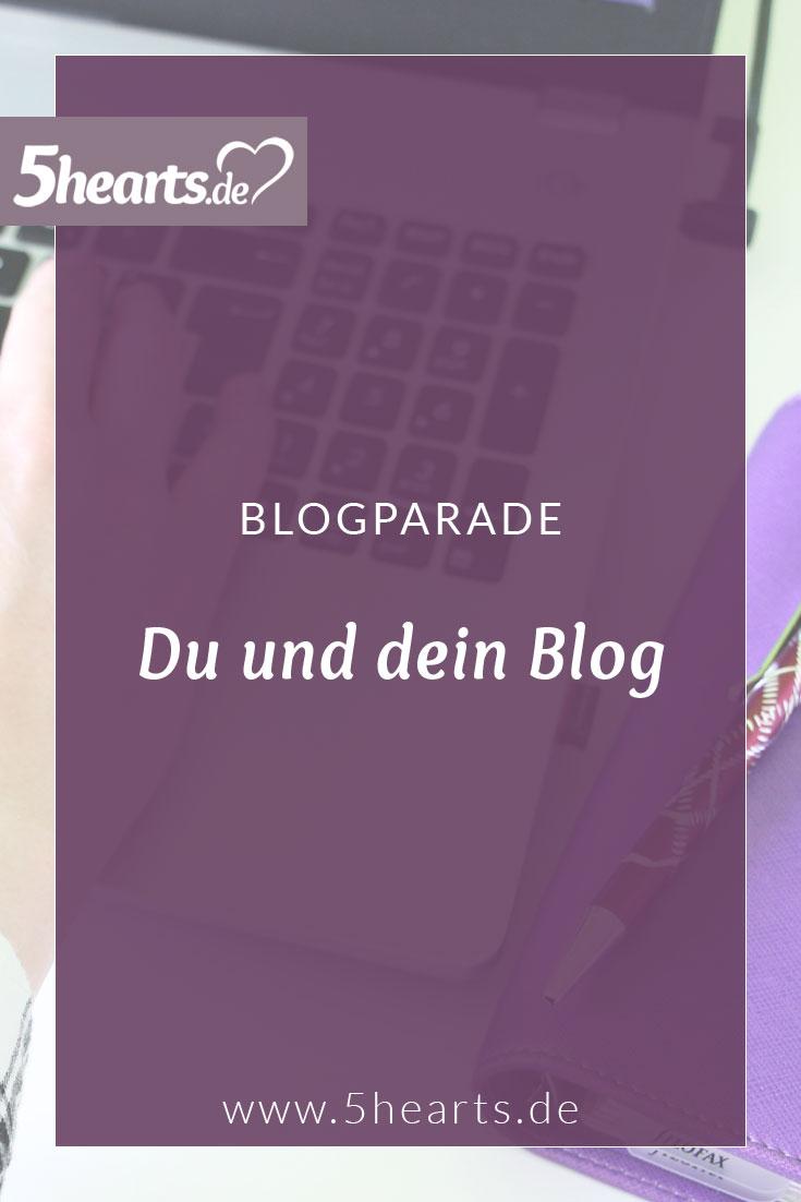 Blogparade - Du und dein Blog