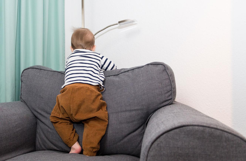 9 Monate Baby - wie unser Sohn sich entwickelt