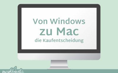 Von Windows zu Mac – die Kaufentscheidung